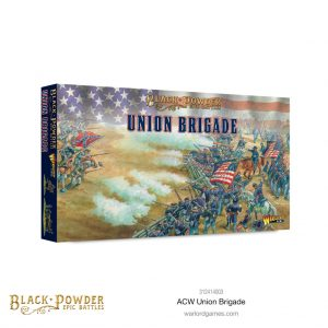 Warlord Games Black Powder Epic Battles  Black Powder Epic Battles Black Powder Epic Battles: ACW Union Brigade - 312414003 - 5060572509238
