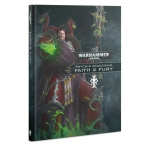 Games Workshop Warhammer 40,000  Psychic Awakening Psychic Awakening: Faith & Fury - 60040199102 - 9781788266659