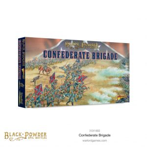 Warlord Games Black Powder Epic Battles  Black Powder Epic Battles Black Powder Epic Battles: ACW Confederate Brigade - 312414002 - 5060572509245