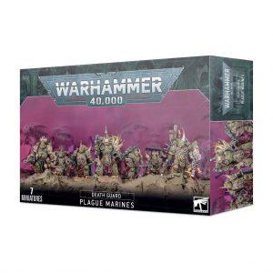 Games Workshop Warhammer 40,000  Death Guard Death Guard Plague Marines - 99120102128 - 5011921153572