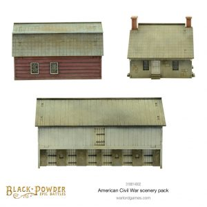 Warlord Games Black Powder Epic Battles  Black Powder Epic Battles Black Powder Epic Battles: ACW American Civil War Scenery Pack - 318814002 - 5060572509344