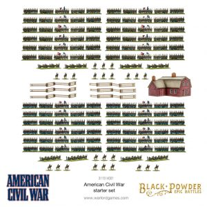 Warlord Games Black Powder Epic Battles  Black Powder Epic Battles Black Powder Epic Battles: American Civil War - 311514001 - 5060572509221
