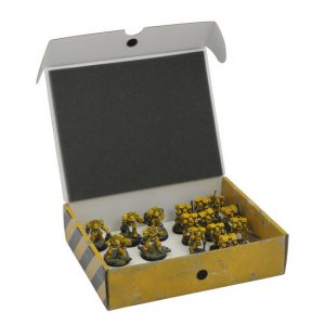 Safe and Sound   Safe and Sound Cases Half-size Small Box for magnetically-based miniatures - SAFE-HSS-MAG01 - 5907459694918