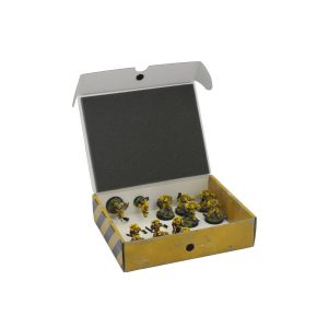 Safe and Sound   Safe and Sound Cases Half-size Small Box for magnetically-based miniatures + metal plate - SAFE-HSS-MAG02 - 5907459694925