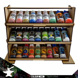 The Colour Forge   Paint Racks Stack a Rack Paint Rack Set (3 tiers) - TCF-ACC-007 - 5060843100706