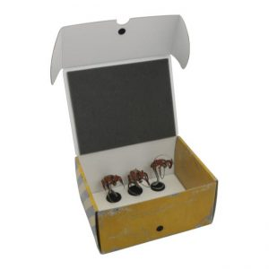 Safe and Sound   Safe and Sound Cases Half-size Medium Box for magnetically-based miniatures - SAFE-HSM-MAG03 - 5907459695113