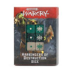 Games Workshop (Direct) Warcry  Warcry Warcry: Harbingers of Destruction Dice Set - 99220299096 - 5011921144099