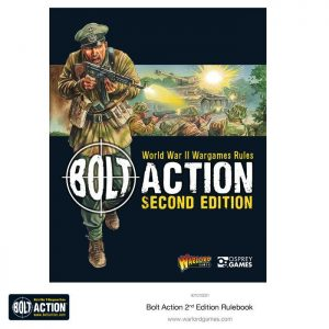 Warlord Games Bolt Action  Bolt Action Essentials Bolt Action 2nd Edition Rulebook - 401010001 - 9781472814944
