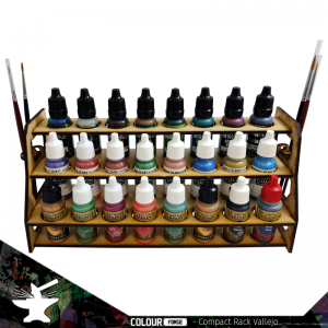 The Colour Forge   Paint Racks Compact Paint Rack (Vallejo) - TCF-ACC-003 - 5060843100614
