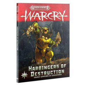 Games Workshop Warcry  Warcry Warcry: Harbingers of Destruction - 60040299097 - 9781839060472