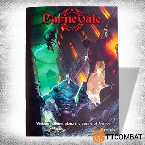 TTCombat Carnevale  Carnevale Carnevale: Small Rulebook - TTC-CMGK-ACC-003 - 5060570137266