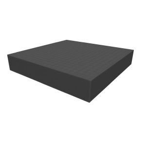Safe and Sound   Safe and Sound Cases Raster foam tray 50mm deep for board game boxes - SAFE-BG-R50SA - 5907459695410