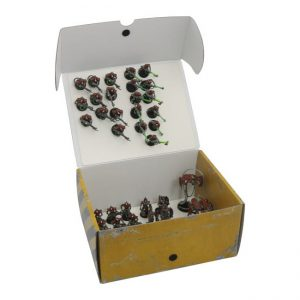 Safe and Sound   Safe and Sound Cases Half-size Medium Box with two plates for magnetically-based miniatures - SAFE-HSM-MAG04 - 5907459695120
