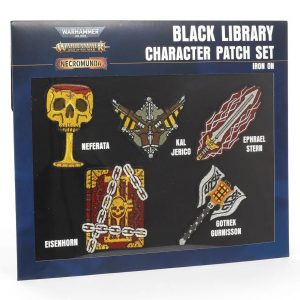 Games Workshop (Direct)   The Horus Heresy Books Black Library Character Cloth Patch Set - 99709981019 - 5011921156047