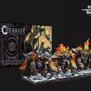 Para-Bellum Conquest: The Last Argument of Kings  The Dweghom Conquest: Dweghom Inferno Automata - PBW8303 - 5213009010412