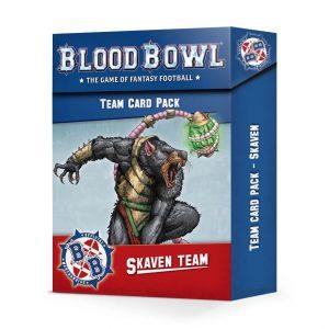 Games Workshop Blood Bowl  Blood Bowl Blood Bowl: Skaven Team Card Pack - 60050906001 - 5011921155040