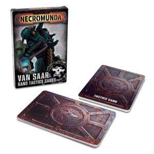 Games Workshop Necromunda  Necromunda Necromunda: Van Saar Gang Tactics Cards - 60050599006 - 5011921131716