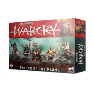Games Workshop Age of Sigmar | Warcry  Warcry Warcry: Scions of the Flame - 99120201099 - 5011921126750