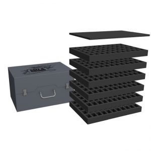 Safe and Sound   Safe and Sound Cases Army Pack for 330 small minis on 25mm bases - SAFE-AP-330M - 5907459695601