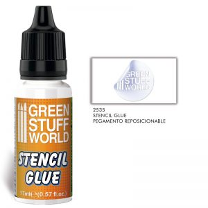 Green Stuff World   Specialist Paints Repositionable Stencil Glue - 8436574508949ES - 8436574508949