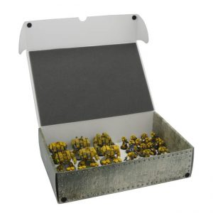 Safe and Sound   Safe and Sound Cases Full-size XL Box for magnetically-based miniatures - SAFE-XL-MAG01 - 5907459694833