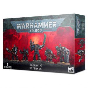 Games Workshop Warhammer 40,000  Deathwatch Deathwatch Kill Team / Veterans - 99120109015 - 5011921149025