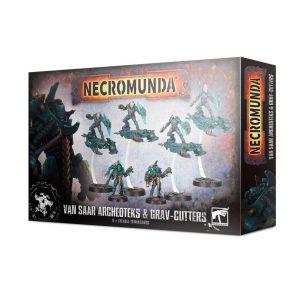Games Workshop Necromunda  Necromunda Necromunda: Van Saar Archeoteks & Grav-cutters - 99120599024 - 5011921138807