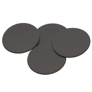 Safe and Sound   Safe and Sound Cases Self-adhesive magnetic sticker round 30mm - SAFE-SAS-30MM - 5907459694949