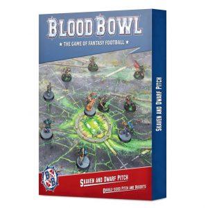 Games Workshop Blood Bowl  Blood Bowl Blood Bowl: Skaven & Dwarf Pitch - 99220999019 - 5011921155064