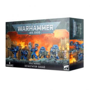 Games Workshop Warhammer 40,000  Space Marines Space Marine Devastator Squad - 99120101317 - 5011921142460