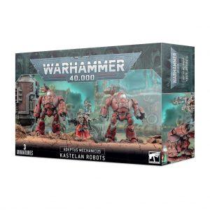 Games Workshop Warhammer 40,000  Adeptus Mechanicus Adeptus Mechanicus Kastelan Robots - 99120116036 - 5011921155965