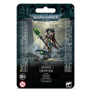 Games Workshop Warhammer 40,000  Necrons Necron Cryptek - 99070110005 - 5011921140343