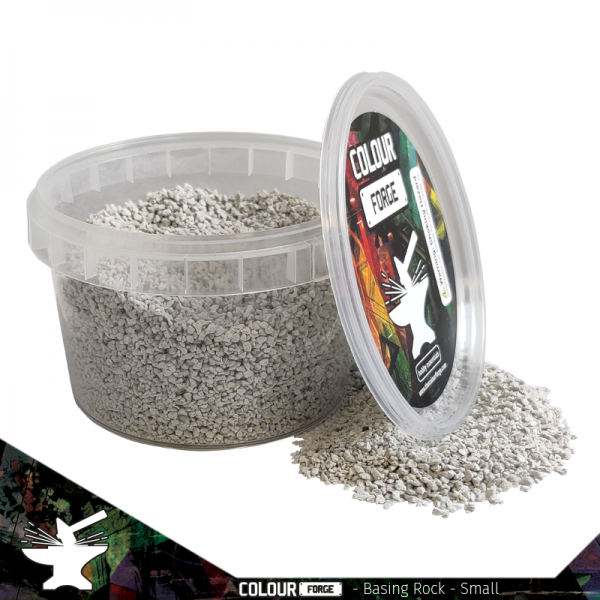 The Colour Forge   Sand & Flock Basing Rocks - Small (275ml) - TCF-BAS-002 - 5060843100720