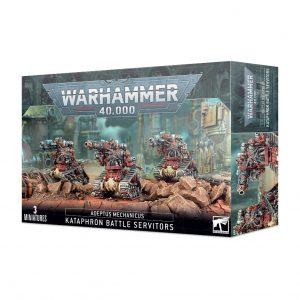 Games Workshop Warhammer 40,000  Adeptus Mechanicus Adeptus Mechanicus Kataphron Battle Servitors - 99120116037 - 5011921155972