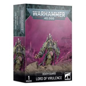 Games Workshop Warhammer 40,000  Death Guard Death Guard Lord of Virulence - 99120102117 - 5011921138876