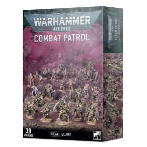 Games Workshop Warhammer 40,000  Death Guard Combat Patrol: Death Guard - 99120102116 - 5011921138814