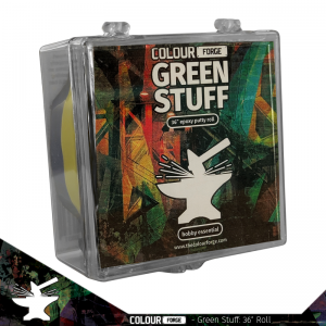 The Colour Forge   Modelling Putty & Green Stuff Green Stuff 36inch (in case) - TCF-GS-331 - 5060843100331