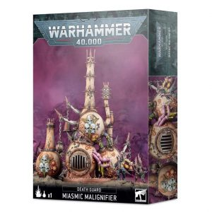 Games Workshop Warhammer 40,000  Death Guard Death Guard Miasmic Malignifier - 99120102118 - 5011921141289