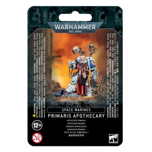 Games Workshop Warhammer 40,000  Space Marines Space Marine Primaris Apothecary - 99070101060 - 5011921999170