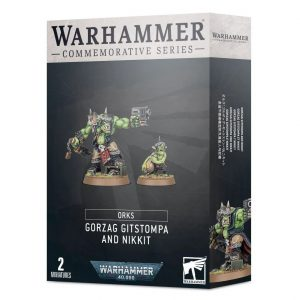Games Workshop (Direct) Warhammer 40,000  Orks Gorzag Gitstompa and Nikkit - 99120103080 -