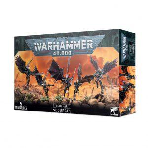 Games Workshop Warhammer 40,000  Drukhari Drukhari Scourges - 99120112047 - 5011921155842