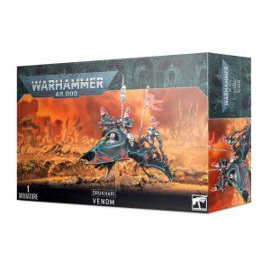 Games Workshop Warhammer 40,000  Drukhari Drukhari Venom - 99120112049 - 5011921155866