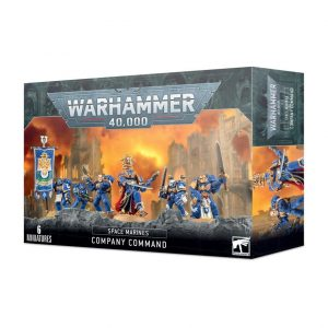 Games Workshop Warhammer 40,000  Space Marines Space Marine Company Command - 99120101301 - 5011921142194