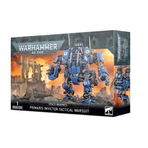Games Workshop Warhammer 40,000  Space Marines Primaris Space Marines Invictor Tactical Warsuit - 99120101326 - 5011921142552