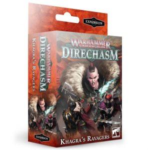 Games Workshop Warhammer Underworlds  Warhammer Underworlds Warhammer Underworlds: Khagras's Ravagers Warband - 60120701006 - 5011921145683