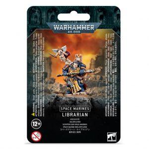 Games Workshop Warhammer 40,000  Space Marines Space Marine Librarian - 99070101052 - 5011921140886