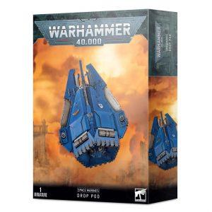 Games Workshop Warhammer 40,000  Space Marines Space Marine Drop Pod - 99120101340 - 5011921146017