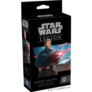 Fantasy Flight Games Star Wars: Legion  The Galactic Empire - Legion Star Wars Legion: Agent Kallus Commander Expansion - FFGSWL80 -