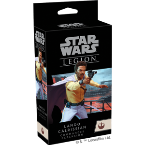 Fantasy Flight Games Star Wars: Legion  The Rebel Alliance - Legion Star Wars Legion: Lando Calrissian Commander Expansion - FFGSWL78 -