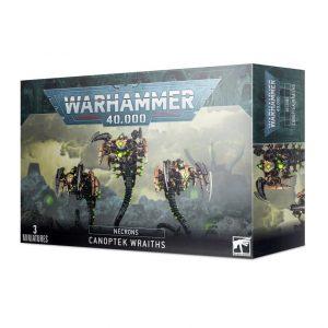 Games Workshop Warhammer 40,000  Necrons Necron Canoptek Wraiths - 99120110060 - 5011921139156